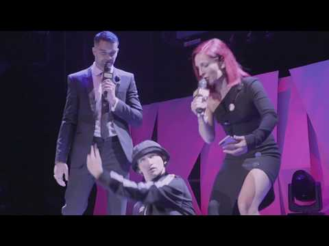 Sharna Burgess And The Three Tonys - Donation Update - 2018 Industry Dance Awards