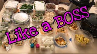 Easy keto meal prep like a BOSS| BUDGET FRIENDLY