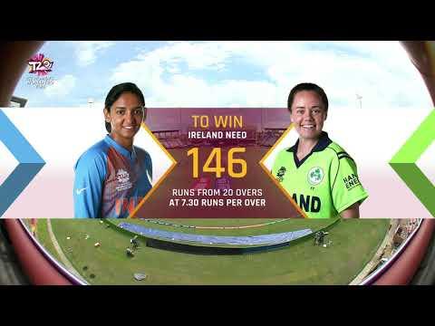 India v Ireland - Women's World T20 2018 highlights
