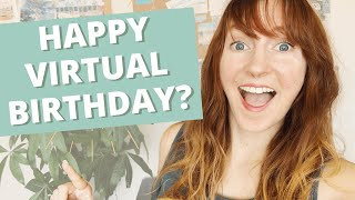HOW TO MAKE A BIRTHDAY WISHES VIDEO | Film the most creative virtual birthday party greeting ever!
