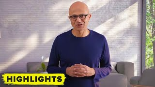 Watch Microsoft CEO Satya Nadella speak at Windows 11 reveal event