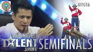 Pilipinas Got Talent 2018 Semifinals: Cebeco II Blue Knights - Pole Balancing