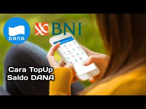 Cara isi (TopUp) Saldo Dana | BNI Mobile Banking