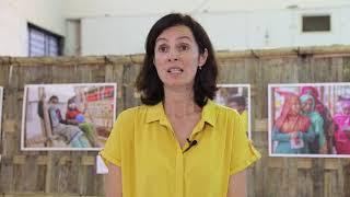 Coordenadora humanitária explica desafios em Cox