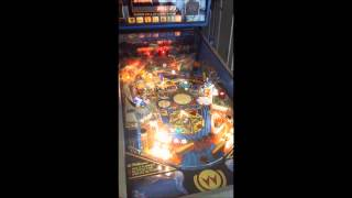 Williams Whirlwind pinball restored game play