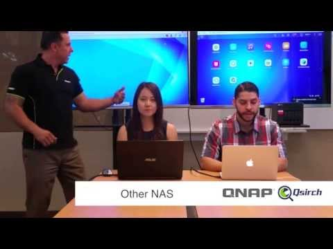 Side by side Speed Test of QNAP vs