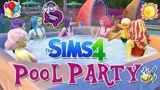 the sims 4 my little pony pool party let s play most popular videos