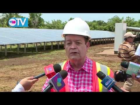 Inauguran planta de energía solar con sistema híbrido más grande de la región en Corn Island
