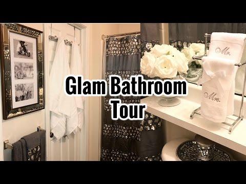 Glam Guest Bathroom Tour!!!