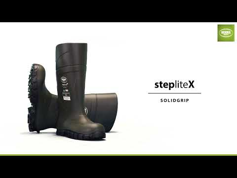StepliteX SolidGrip, non-metallic toe cap and midsole (S5), Electrical Hazard, green