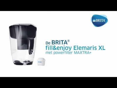 Brita Waterfilterkan Elemaris XL Zwart 3,5L