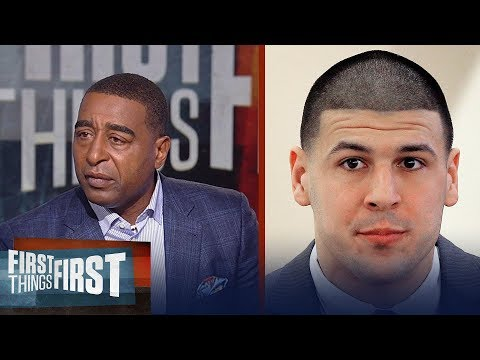 Aaron Hernandez had advanced stages of CTE - Cris Carter emotionally responds | FIRST THINGS FIRST