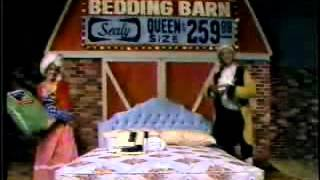 Bedding Barn ad from 1981