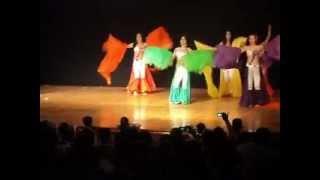preview picture of video 'academia de danzas maria elena alcaraz obra ABANICOS DE SEDA'