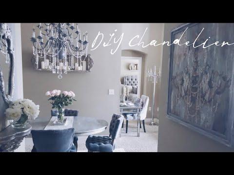DIY Chandelier | French Provincial Modern Chic