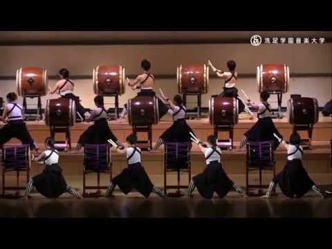 Powerful Japanese Taiko Ensemble Performance