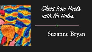 Wrap and Turn Short Row Heel without Holes