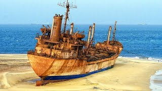 Abandoned ships around the world