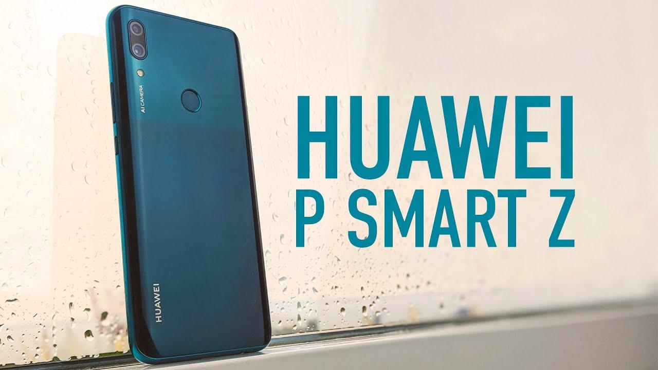 Huawei P Smart Z 4/64Gb Sapphire Blue (51093WVM) video preview