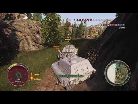 World of Tanks Console Jagdpanzer E100 - 8,000 Damage Without