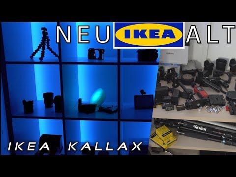 Ikea 🗃 Kallax 👍🏼 schwedisches Wunder 👱🏽♀️👦🏼/ günstiges TechnikRegal + LED Strips 2x5m ALEXA