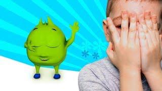 Сборник лучших видео для детей Игра в прятки Рома и Хелпик