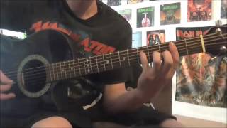 ANNIHILATOR - In The Blood (acoustic cover)