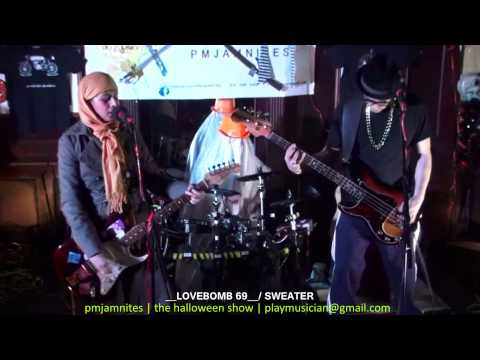 PMJAMNITES - THE HALLOWEEN SHOW - LOVEBOMB 69 - SWEATER