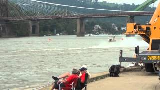 preview picture of video '8th Annual Wheeling Vintage Raceboat Regatta Wheeling,West Virginia September 1,2013'