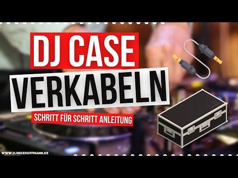 DJ Case verkabeln 🎧 | Zomo Case | Pioneer DDJ 1000 | DJ Mischpult