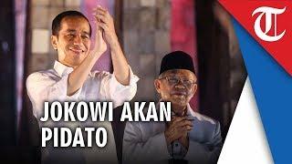 Rencananya, Jokowi Akan Sampaikan Pidato di Kediaman Kiai Ma'ruf Amin