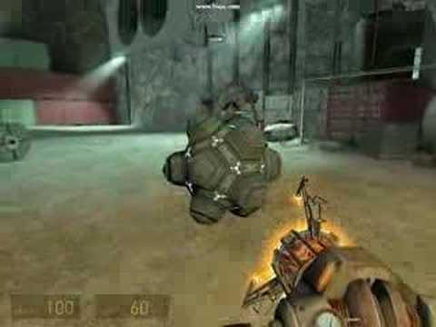 Четвероногий робот BigDog научился метать снаряды