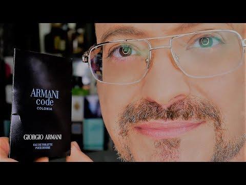 🕊 ARMANI CODE COLONIA RESEÑA DE UN PERFUME CORRECTO