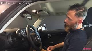 La commande de réglage du volant