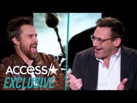 Jon Hamm, Kathy Bates And Sam Rockwell Crack Up Doing Clint Eastwood Impressions