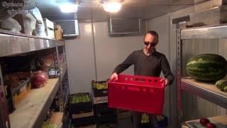Хранение продуктов питания в хозяйстве Фролова Ю.А. - дома и на производстве. Май 14 год.