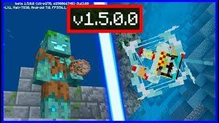 ВЫШЕЛ Minecraft 1.5.0.0, ИЗМЕНЕНИЕ ЖИЗНИ ПОД ВОДОЙ + НОВЫЕ СПОСОБНОСТИ УТОПЛЕННИКА!