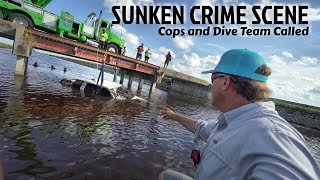 Found Sunken Crime Scene While Fishing - Cops Called