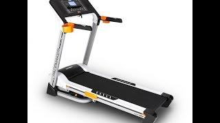Klarfit Pacemaker FX5 Laufband Heimtrainer  1,5 PS, 12 Km/H Massagegerät  Sit Up Bank Trainingscompu