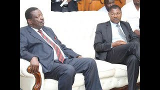 ANC leader Musalia Mudavadi raises questions in the way Raila-Uhuru Pact has been handled