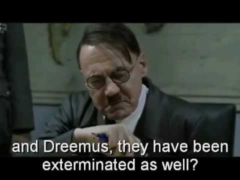 HITLER FINDS OUT ABOUT NEW DREEMUS CD
