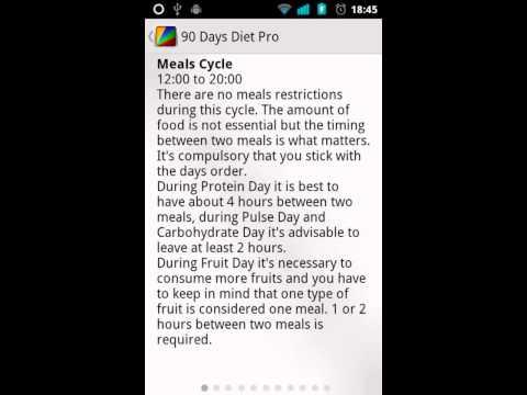 Video of 90 Days Diet