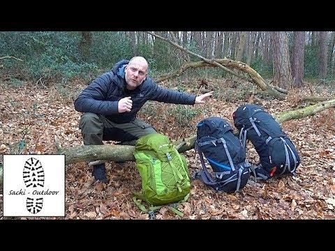Wanderwissen: Die Haupt-Rucksackarten