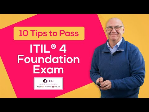 10 Tips to Pass ITIL® 4 Foundation Exam - YouTube