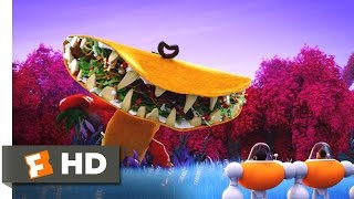 Cloudy with a Chance of Meatballs 2 - Tacodile Supreme Scene (6/10)   Movieclips