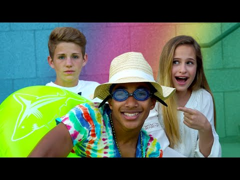 Try Not To Laugh!  (MattyBRaps & Liv VS Justin)
