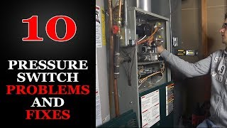 Furnace Pressure Switch Troubleshooting