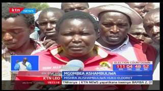 Mgombeaji wa Kesses Mishra alazwa hospitalini baada ya wafuasi wake na wa mpinzani wake kuzozana