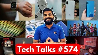Tech Talks #574 - Mi 8x, Whatsapp Ban, Flipkart Big Freedom Day, LG G7+ ThinQ, Honor Play, ISRO Moon