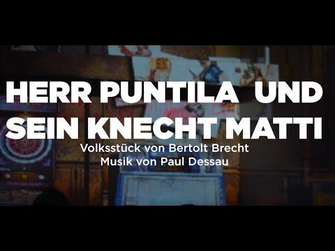 HERR PUNTILA UND SEIN KNECHT MATTI von Richard Wagner - Premiere 23.11.2019